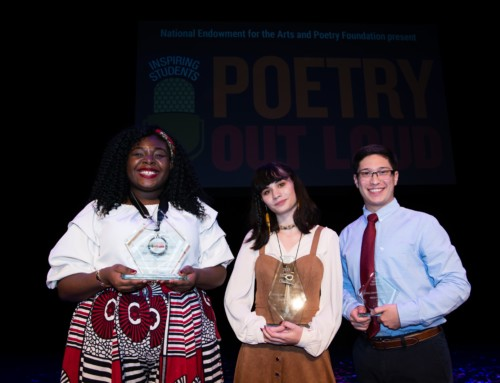 2019 Poetry Out Loud National Champion Announced